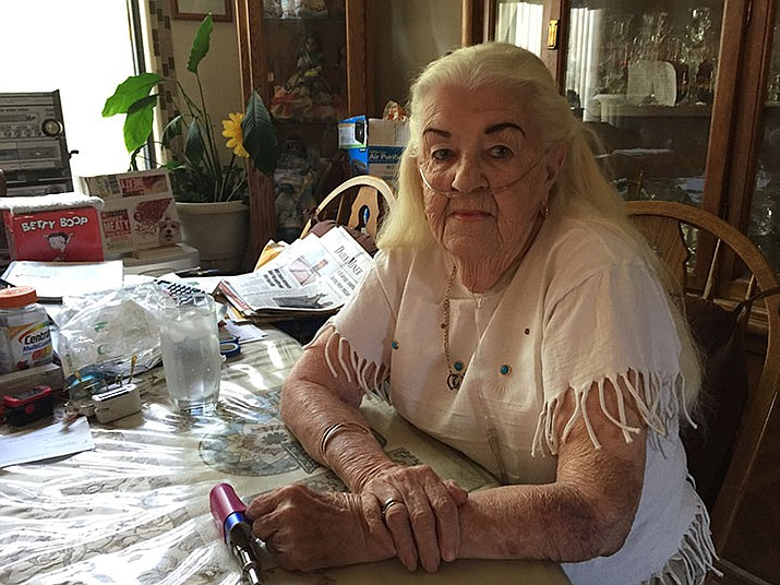 Betty Wright of Kingman is exasperated over her utility bills. She is likely not alone as everybody's power bills are about to go up.