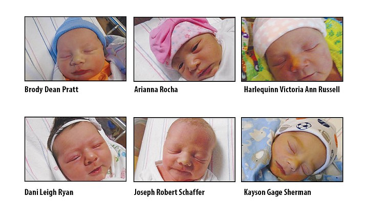 Birth announcements in the Chino Valley Review for Aug. 24, 2016.