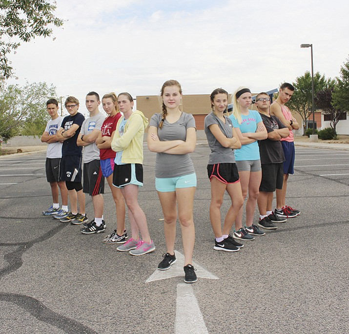 The Kingman Academy High School cross country team saw its numbers increase for the 2016 season.