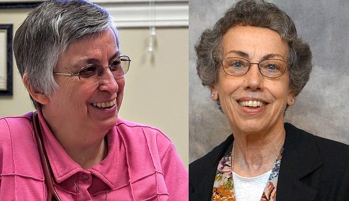 Sister Paula Merrill and Sister Margaret Held
