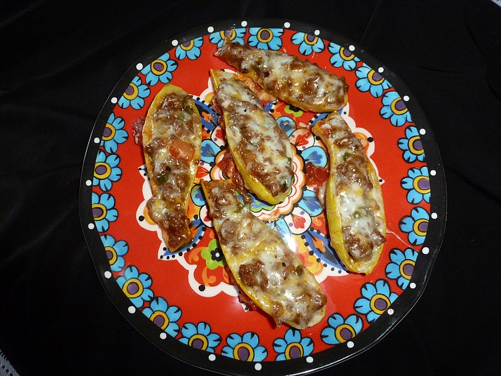 Southwestern Stuffed Squash Boats is the Cooking with Diane recipe for Aug. 24, 2016.