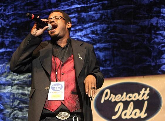 D.L. Harrison was this year's Prescott Idol winner.