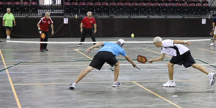 Pickleball is a sport popular with all ages.
