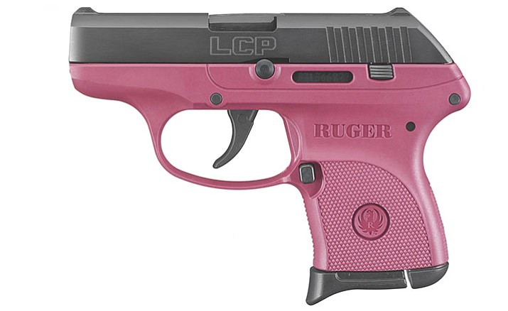 A pink weapon is a matter of choice - some women like them, some do not.