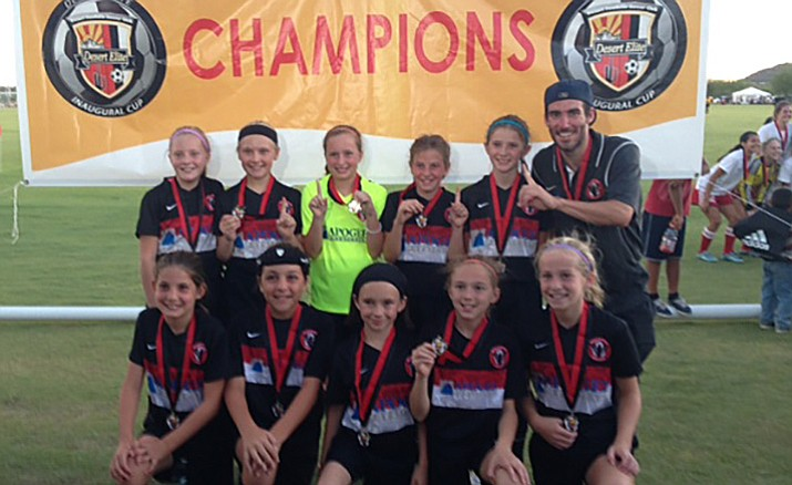 The Prescott Blackhawks 05 girls' Zarka youth soccer team has started out the 2016 season strong, winning the Desert Elite Tournament championship in Phoenix on Sept. 4.