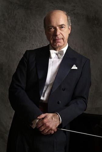 Guest conductor Matthais Bamert