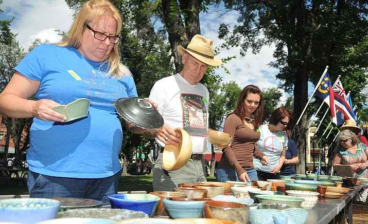 Empty Bowls, a worldwide event designed to increase awareness, understanding and action on the complex issues of food security, takes place from 11 a.m. to 2 p.m. Sunday, Sept. 11, on the courthouse plaza.