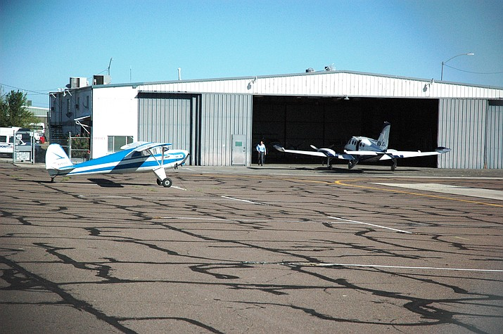The Prescott Airport.