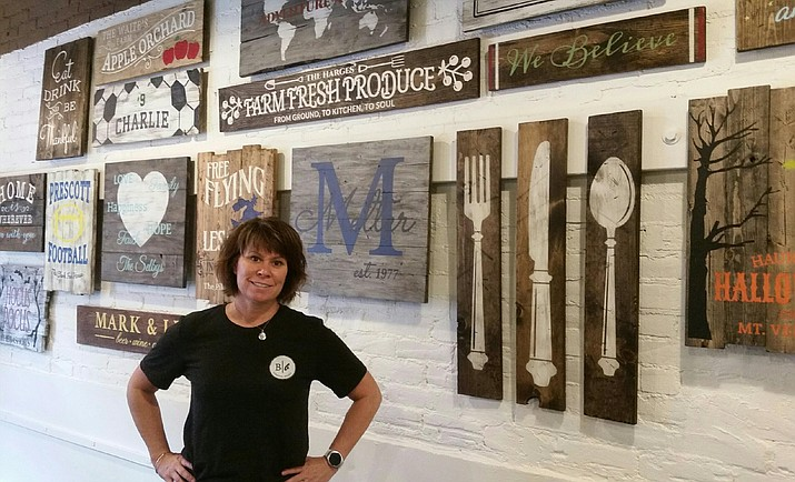 Christa Toth just opened a Board & Brush Creative Studio in downtown Prescott. The chain has 28 locations mostly in Wisconsin and surrounding states.