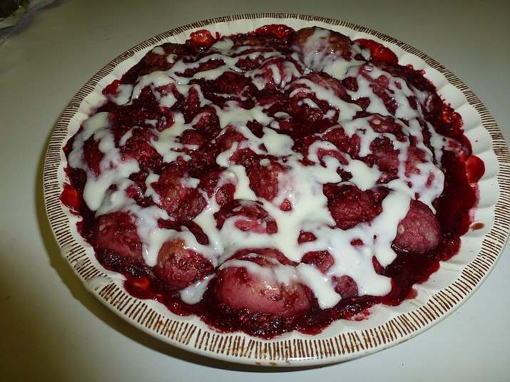 Raspberry Bubble Bake is the Cooking with Diane recipe for Sept. 14, 2016.