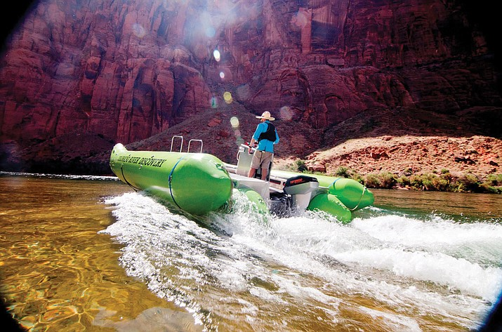 After almost a decade of research, Colorado River Discovery announced its first 100 percent electric raft, Helios. Helios has zero emissions and reduces waste, pollution and noise levels.