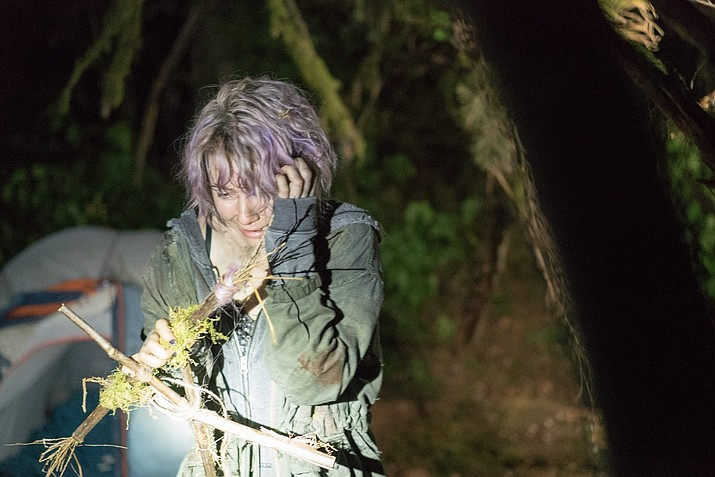 Valorie Curry in the 2016 movie, Blair Witch.