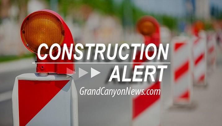 Traffic shift on I-40 west of Williams begins