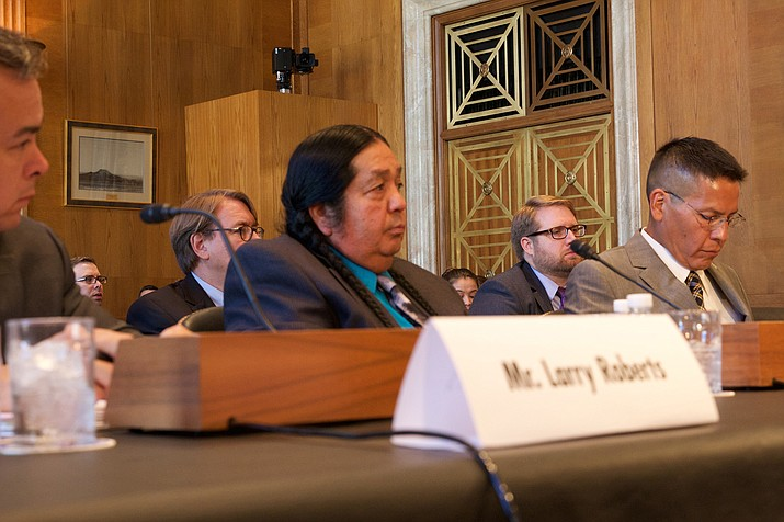 Hualapai Tribe Chairman Damon Clarke said a bill allocating water is necessary for his tribe's welfare – but it will also benefit the state through greater tourism. Photo/Jessica Suerth/Cronkite News