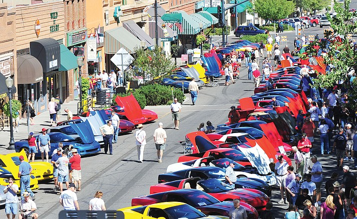 The Historic Prescott Corvette Show, sponsored by Prescott Vette Sette.
