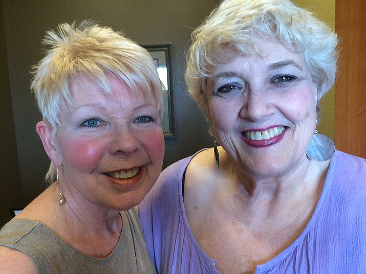 Prescott Hypnosis founder and certified medical and clinical hypnotherapist Carrie Ann Apap, left, with one of her longtime patients, Ginni Trask.