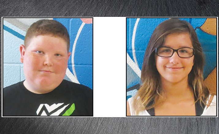 The Humboldt Unified School District's students of the week for Sept. 14, 2016.