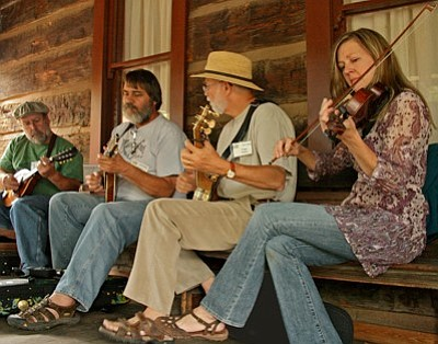 Folk music fun this weekend at Sharlot.