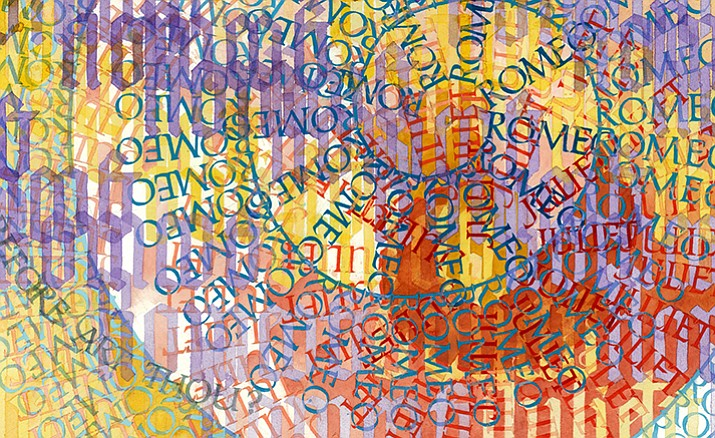"""Signatures: Lettering Art by Sid Freeman,"" featuring art by Sid Freeman of Prescott Valley, is on show at Jerome Artists' Cooperative Gallery through Nov. 30."