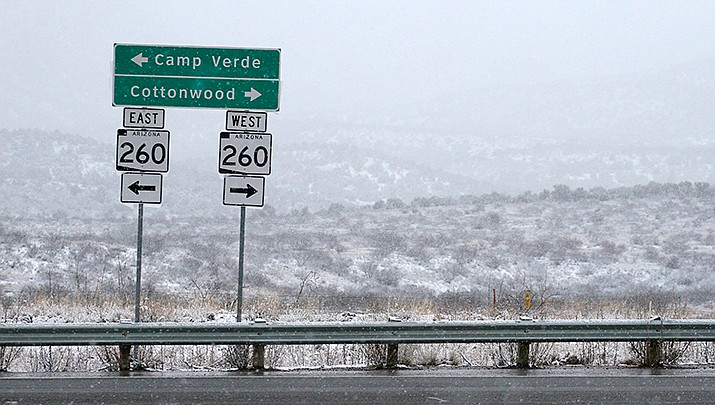 Verde Independent, Camp Verde Bugle  home delivery and newsstand papers delayed due to snow storm