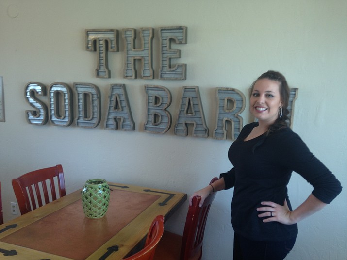 Caleigh Bybee is the owner of The Soda Barn, scheduled to have its official grand opening at 11 a.m., Oct. 15.