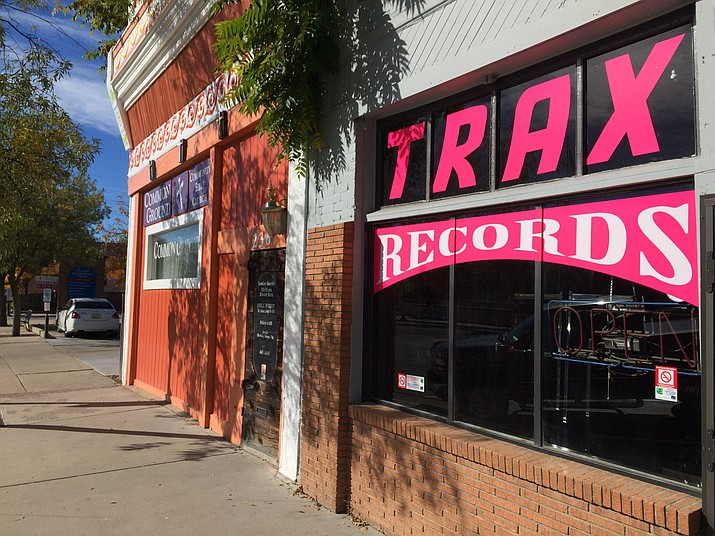 A new record store called Trax Records officially opened this week in Prescott.