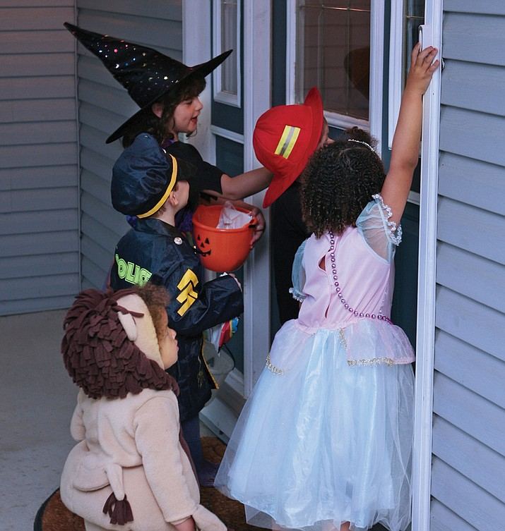 Think safety first during Halloween events.