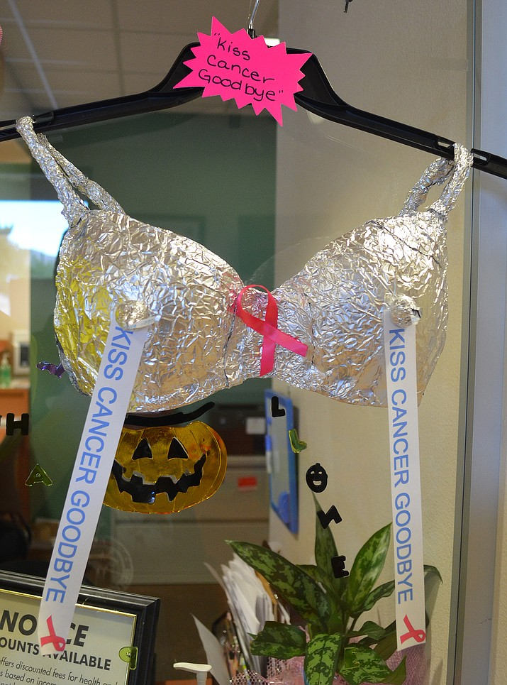 The Importance Of Mammograms Clinic S Bra Contest Not Just For Fun
