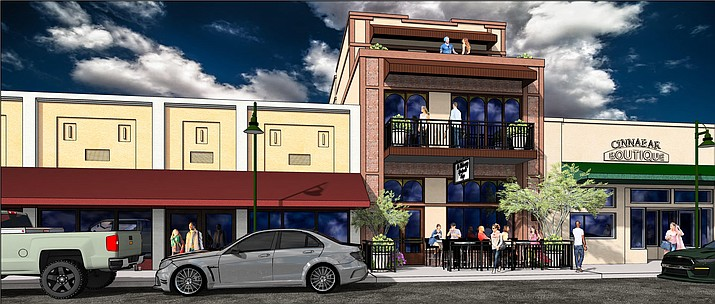 Design requests are approved for LeMain Development during the Planning and Zoning commission meeting Monday evening. (Courtesy Illustration from Cottonwood Planning and Zoning Commission)