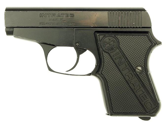 A .25 automatic pistol.