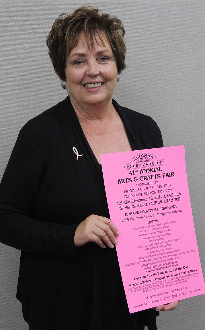 Former mayor and current president of the Kingman Cancer Care Unit, Janet Watson remains devoted to the Kingman area.