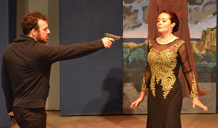 William Shakespeare's Hamlet, presented by Yavapai College, takes the outdoor stage at YC's Verde Valley Campus, Saturday, November 5 at 5:30 p.m.