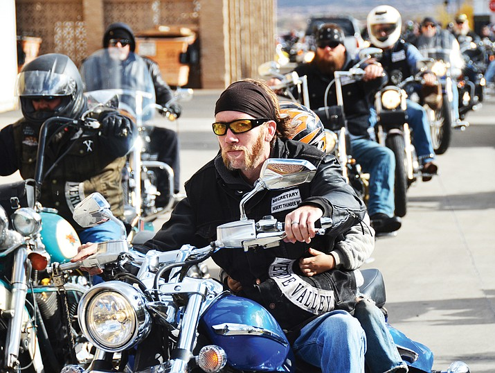 The Verde Valley Toy Run is set to mark its 32nd year, with all funds raised going to the Verde Valley Teen Center.  Registration for the dice run will take place Nov. 5 at the Walmart parking lot between 9-10:30 a.m. Kick stands go up at 10: 30 a.m. (VVN file photo)