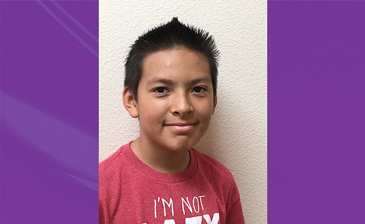 Ciente Arellano of Granville Elementary School is the Humboldt Unified School District student of the week for Oct. 26, 2016.