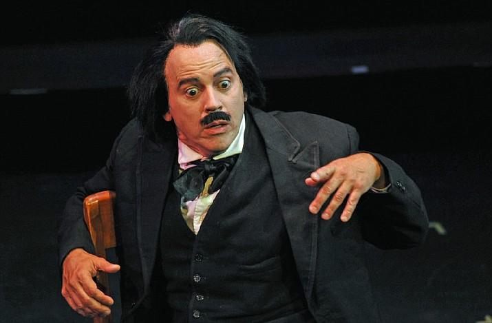 Duffy Hudson is Edgar Allan Poe
