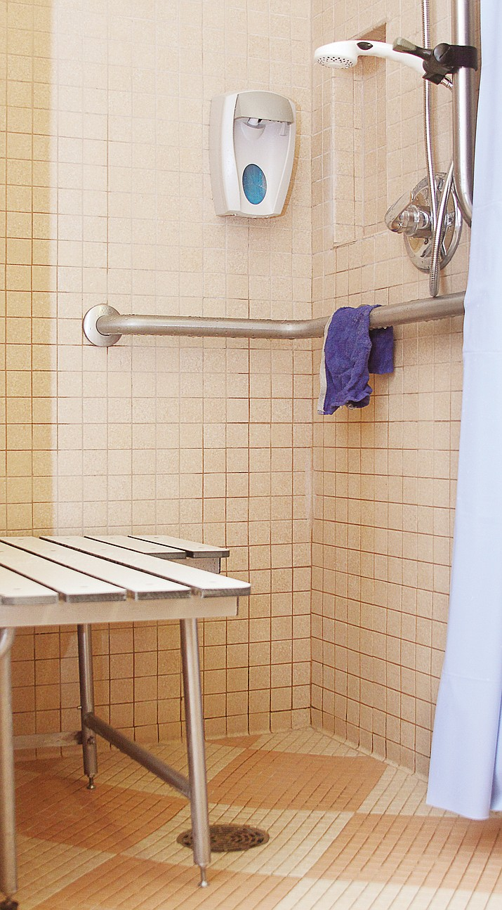 Grab bars and shower benches can make bathrooms much safer for seniors.