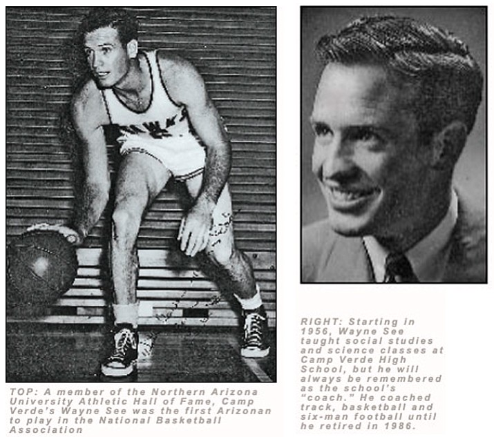 In 1949, following his graduation from what was Arizona State Teachers College, now Northern Arizona University, See signed a contract for $5,200 a year to play professional basketball for the Waterloo Hawks of the fledgling National Basketball Association.