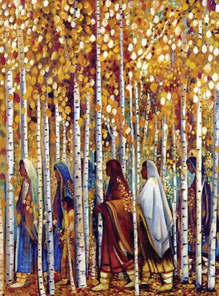 """Glittering Trail"" by Tony Abeyta"