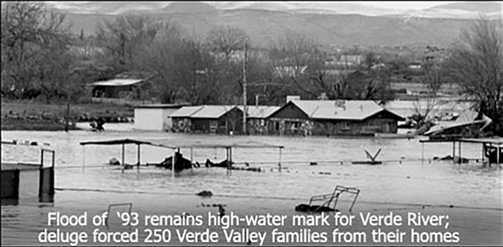 February has always been a big month for floods. The three biggest floods in the recorded history of high-water marks on the Verde River occurred in February. The granddaddy of these gully-washers took place Feb. 20, 1993.