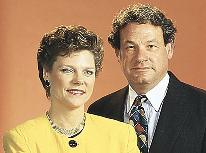 Cokie Roberts and Steven V. Roberts