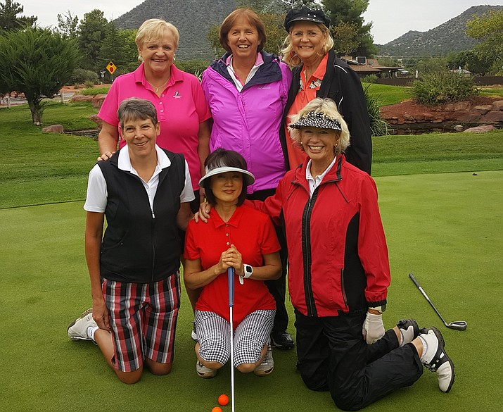 Lori Zaun, Donna Cantello, Liz Chang and Julie Larson played most frequently for the OCCWGA Team. When vacations interfered with the schedule the strong playing of Penny Fischer, Kathy Davidson, Marion Maby and Barbara Erickson stepped up to represent the club.