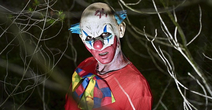 Few Reports Of Creepy Clowns Haunting Verde Valley Towns Camp