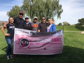 Pepsi's Second Annual Breast Cancer Awareness Golf Tournament raised $5,000 for Kingman Cancer Care Unit.