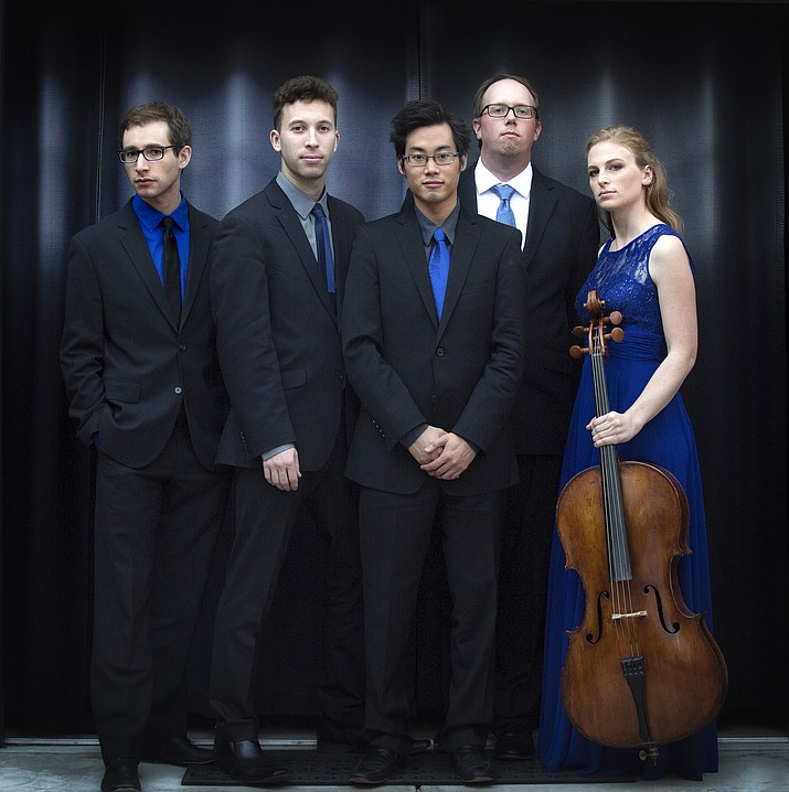 "A unique and versatile cello quintet, hailed as ""brilliant"" and ""superb"" by Mark Swed in the Los Angeles Times, SAKURA is built on the artistry and virtuosity of its members: Sarah Rommel, Peter Myers, Yoshika Masuda, Michael Kaufman and Rainer Crosett."