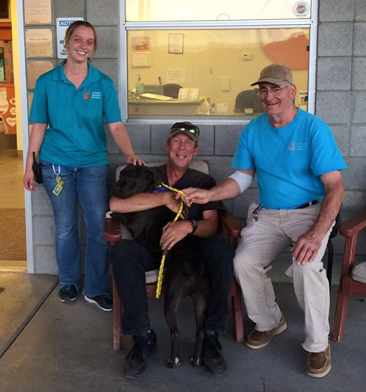 Don't overlook long-termers at the shelter when wanting to add a pet to your family; they are often hidden gems! Dogs like JJ, who was adopted by Bob, had a 330-day length of stay at the shelter.