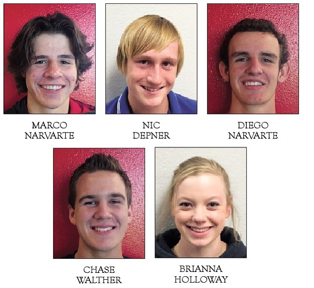 A portion of local swimmers who qualified for Division III state meet Saturday in Paradise Valley.