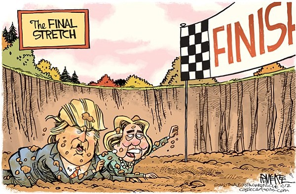 Editorial cartoon: Nov. 3, 2016