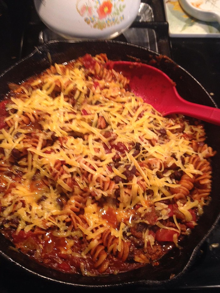 Quick Chili Pasta is the Cooking with Diane recipe for Nov. 2, 2016.