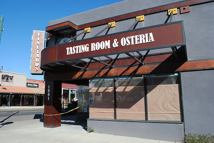 Merkin Vineyards Osteria, a tasting room owned by Maynard James Keenan, is slated to open Nov. 28 in Old Town. (VVN/Jennifer Kucich)