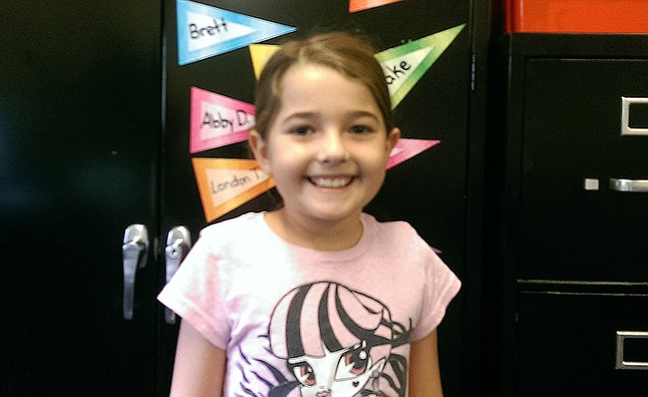 Zaeda Newnum is a third-grader at Abia Judd Elementary School.